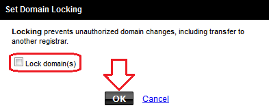 domains unlock Transferring Domain from Godaddy