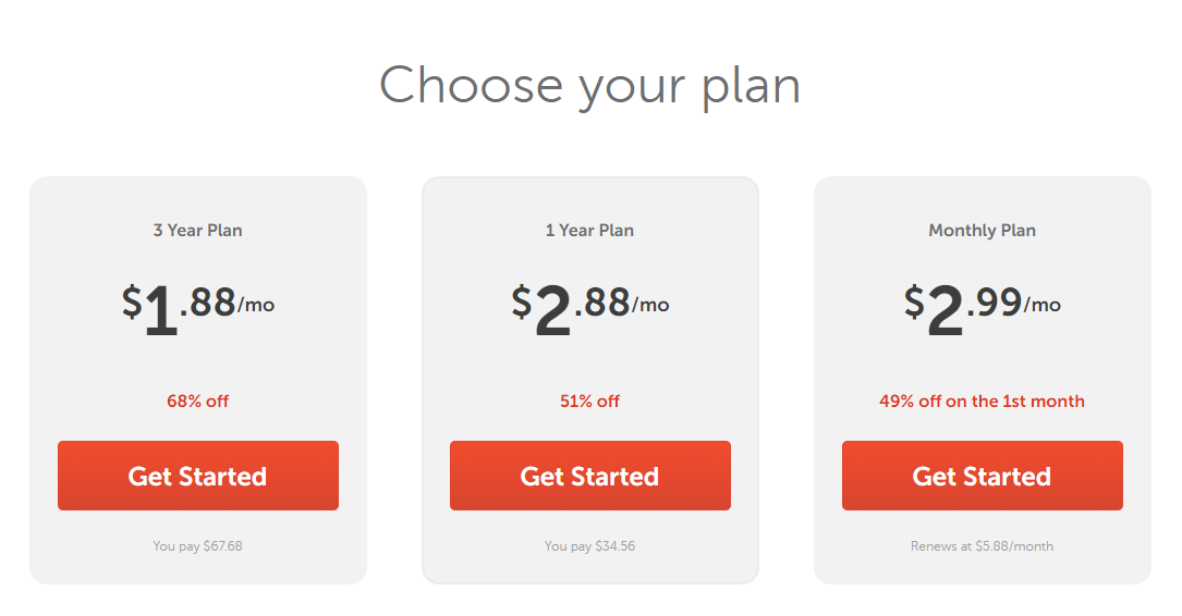 Three VPN options for Apple devices available from Namecheap.
