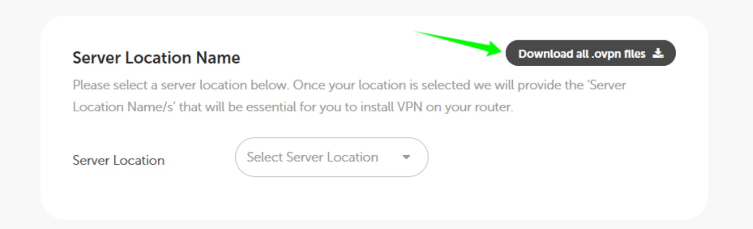 A screenshot indicates that a user should download Open VPN files for Debian