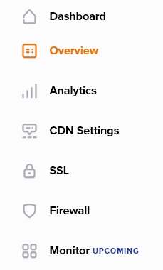 The Namecheap CDN dashboard