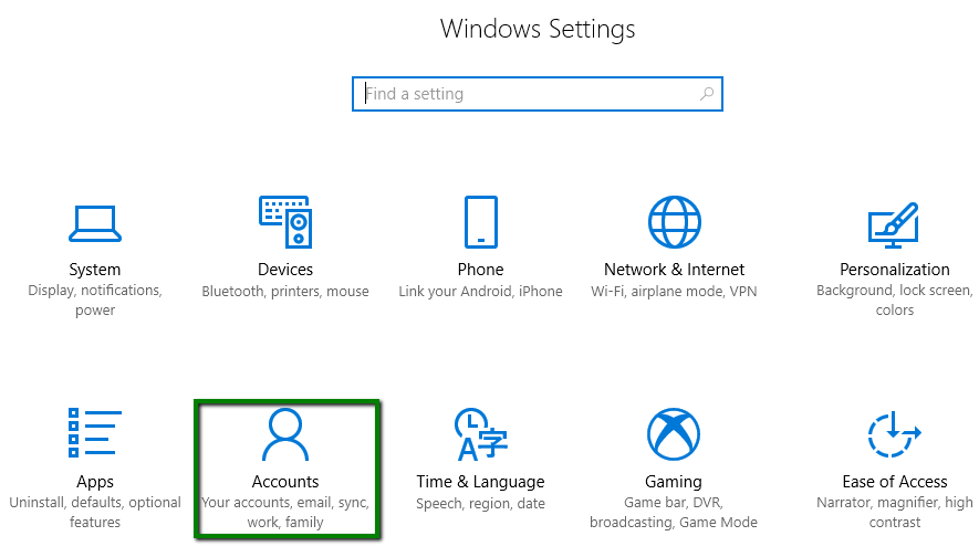 How to configure ActiveSync (Exchange) account on Windows 10