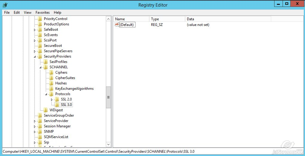 Disabling SSLv3 - SSL Certificates - Namecheap com