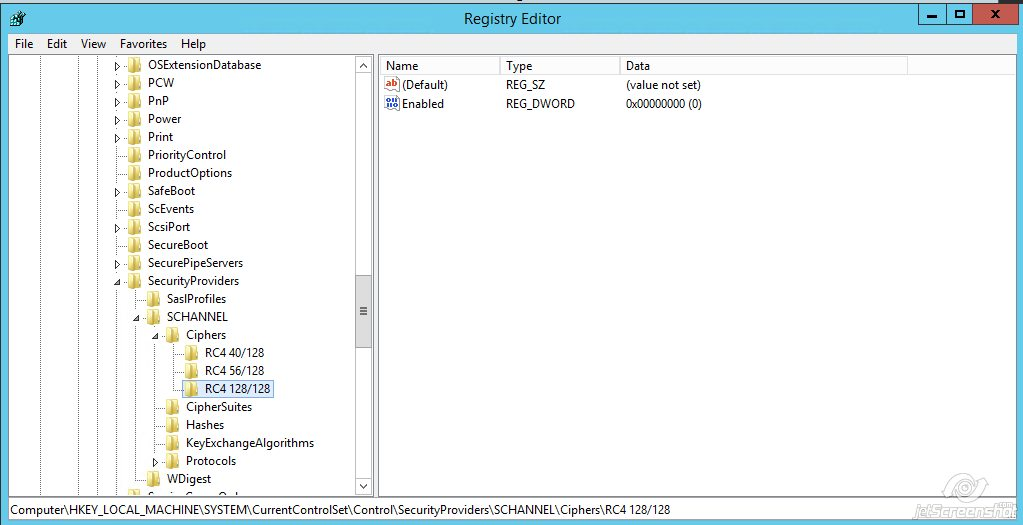 Disabling RC4 - SSL Certificates - Namecheap com
