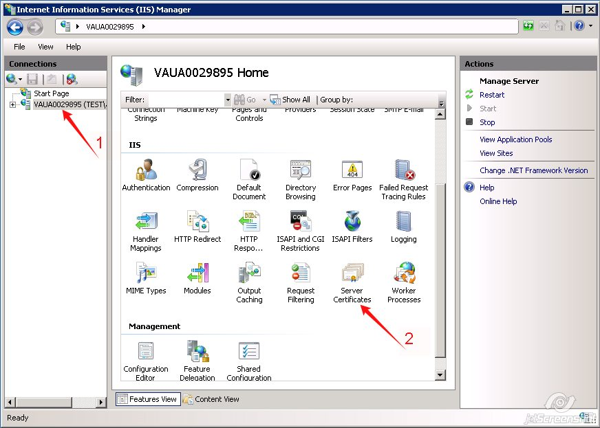 Generating A Csr Code On Iis7 Namecheap