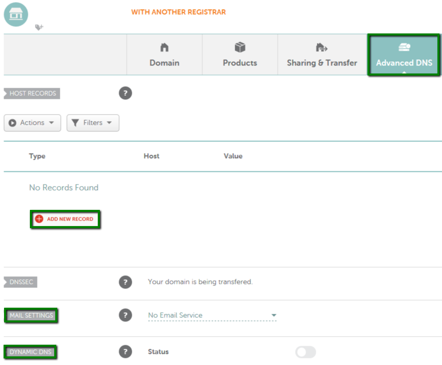 How do I set my domain to use Namecheap's FreeDNS service