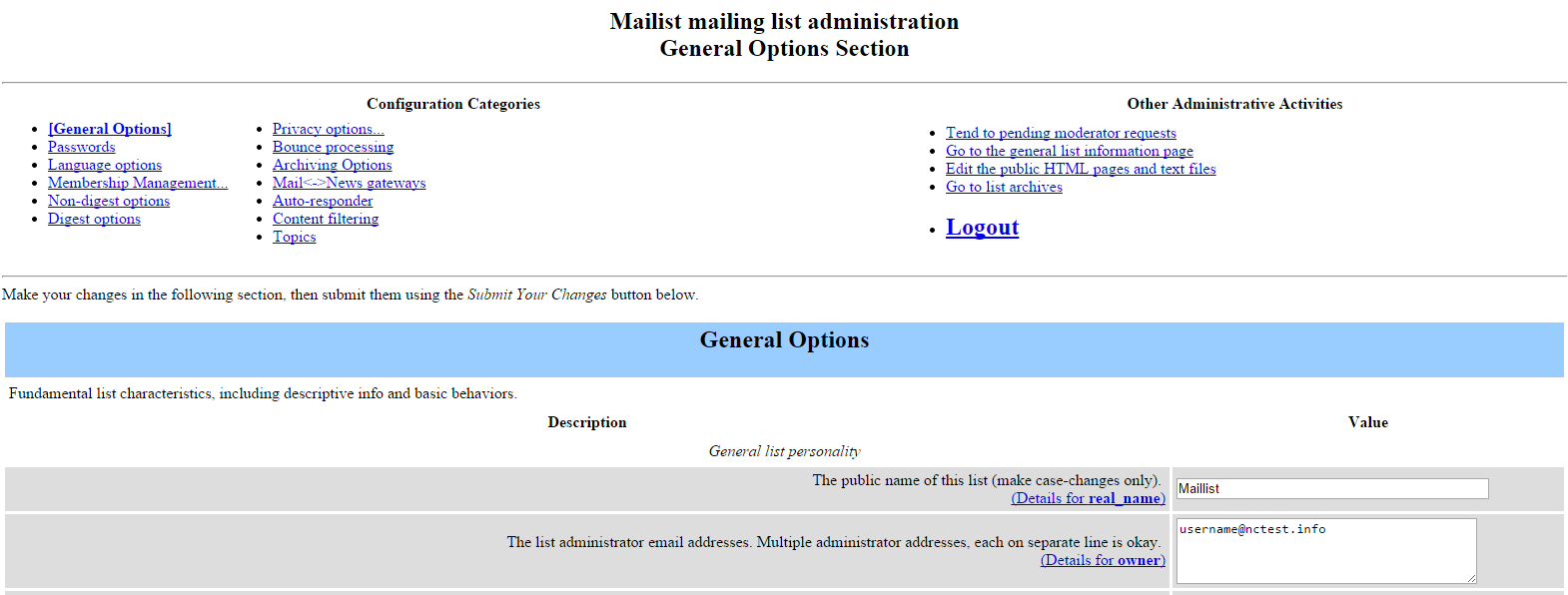 how to create and manage mailing lists in cpanel cpanel questions delegation assigns administrative rights to available users use arrows to add exclude selected users from the list of administrators and click save