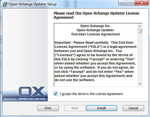 How to configure Exchange account in Microsoft Outlook 2003 - Email