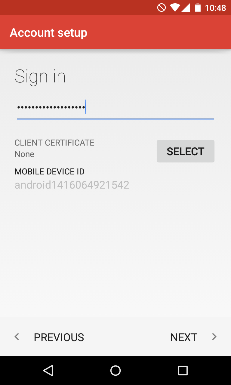 How to configure activesync exchange account on android 5 here you will need to indicate correct exchange server settings make sure to use the following settings for your account xflitez Image collections
