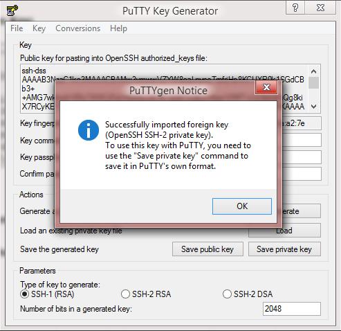 create 2048 bit ssh key