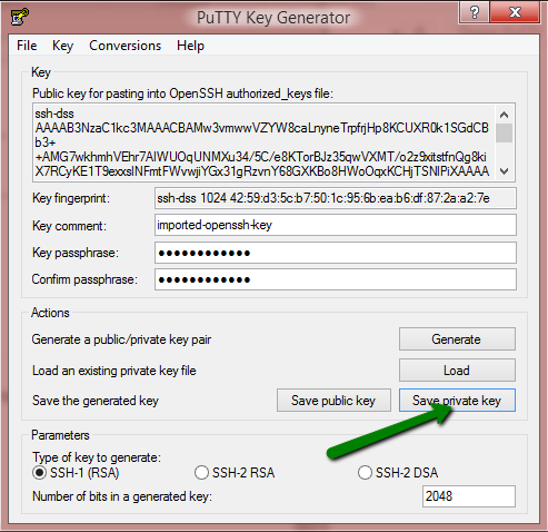 ssh keygen to generate public key
