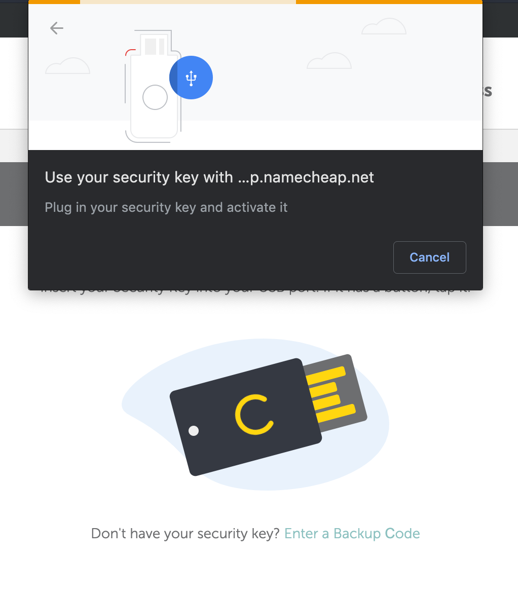 How can I use the U2F method for Two-Factor Authentication