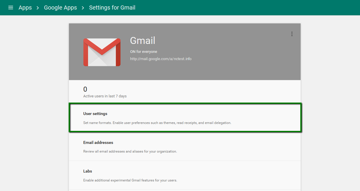 How to activate G Suite (Google Apps) for Mail - Hosting