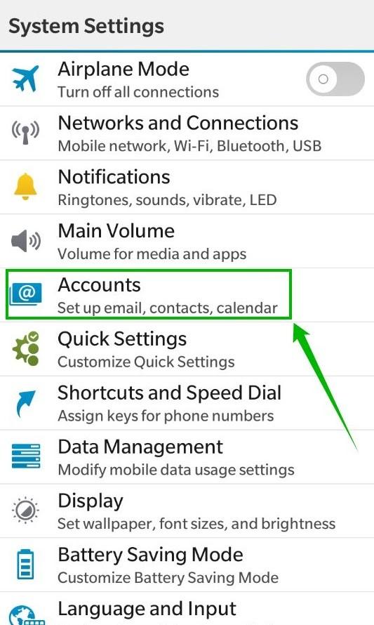 How to configure ActiveSync (Exchange) account on Blackberry 10
