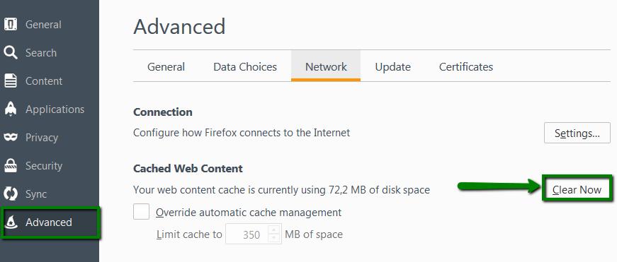 clear certificate cache chrome mac