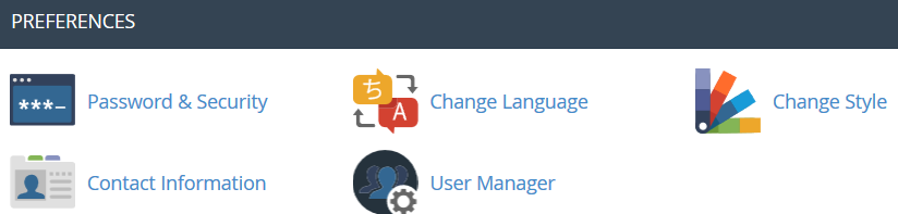 cPanel control panel overview - Hosting - Namecheap com