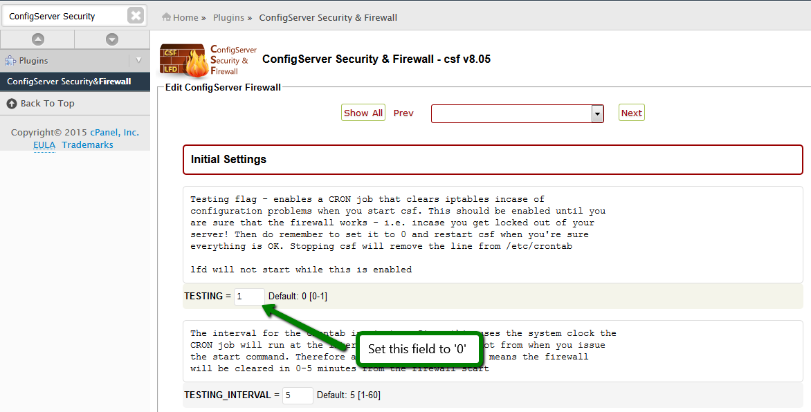 How to work with the CSF plugin - Hosting - Namecheap com