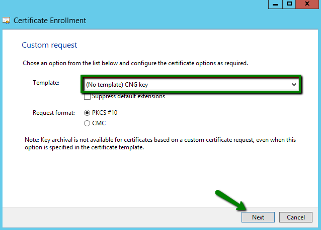 How to generate a csr code on a windows based server without iis manager now we need to open the window in which we will adjust the certificate request in the way that we can receive the certificate with the correct information yelopaper Images