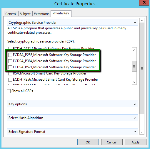 How to generate a CSR code on a Windows-based server without IIS Manager