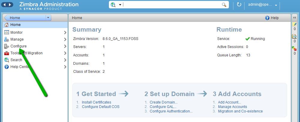 Generating a CSR on Zimbra - SSL Certificates - Namecheap com