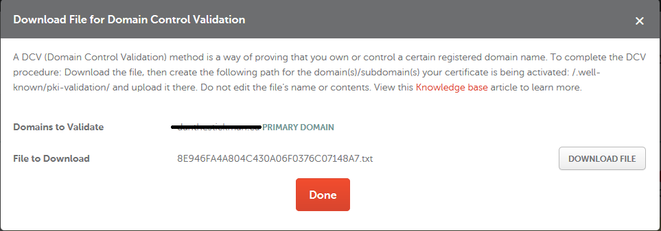 How can I complete the domain control validation (DCV) for my SSL ...