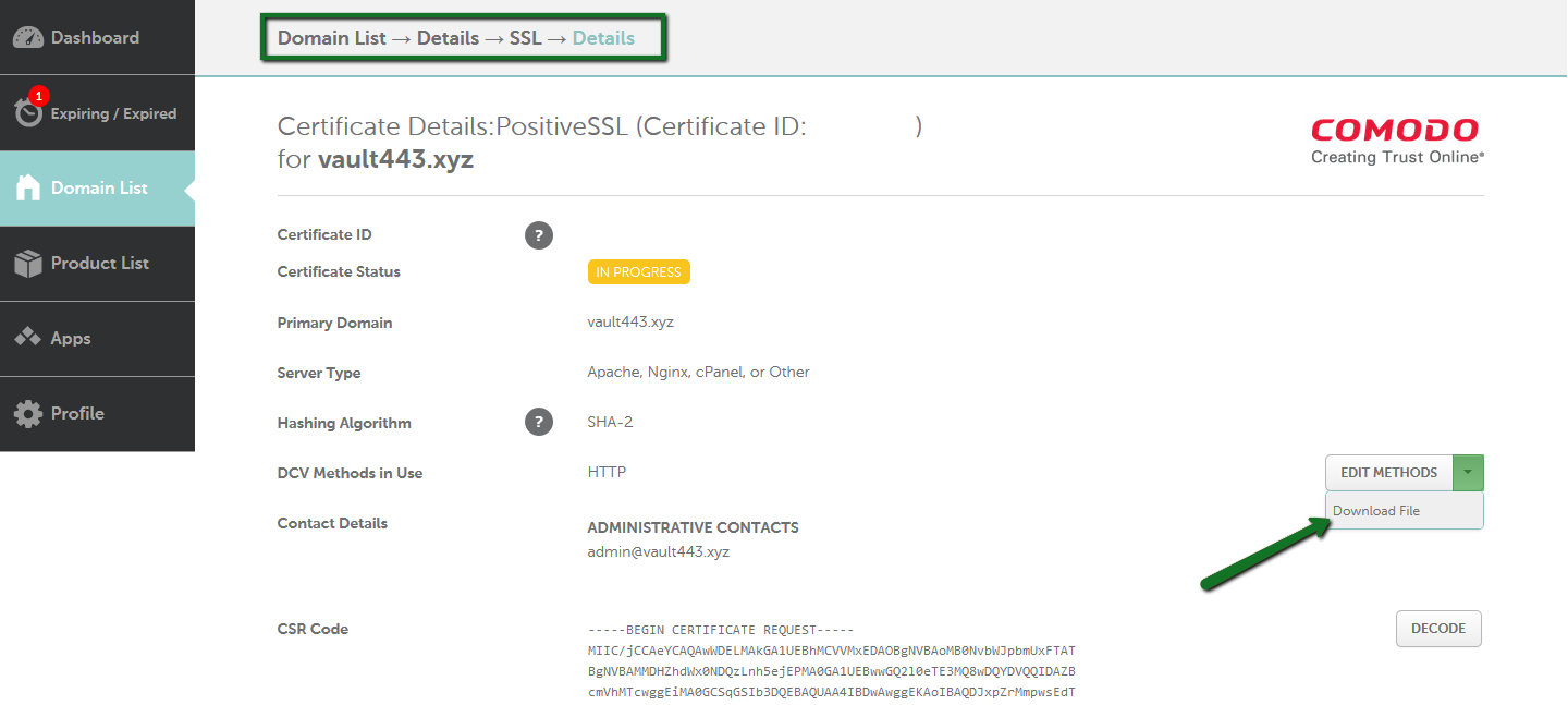 How to Enable an SSL Certificate - SSL Certificates