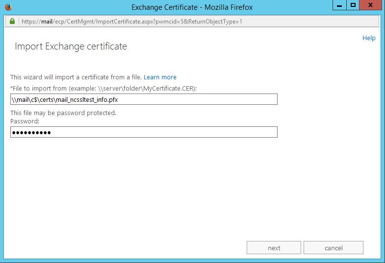 How To Exportimport Certificates In Exchange 2013 Eac Ssl
