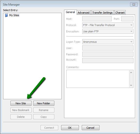 How to set up FileZilla - Hosting - Namecheap com