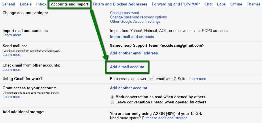 change google account email address
