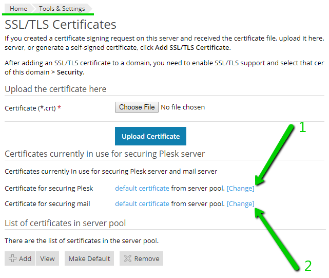 Installing An Ssl Certificate On Plesk Onyx Namecheap