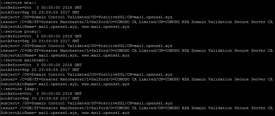 Installing a SSL certificate on Zimbra - Namecheap.com