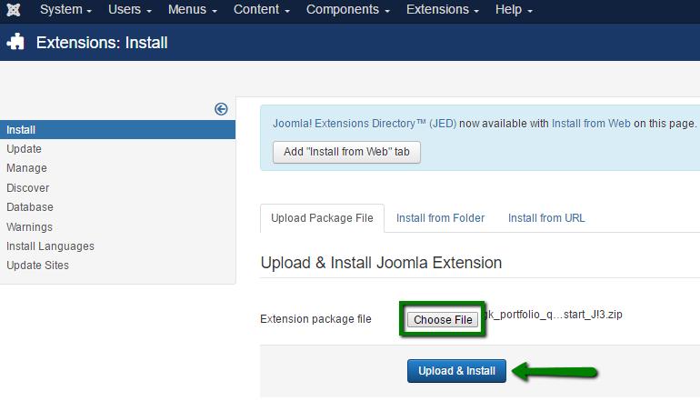 How to install Joomla templates - Hosting - Namecheap.com