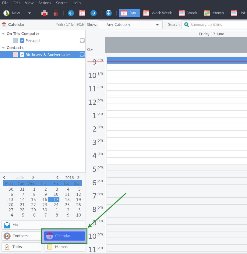 How to configure Address Book and Calendar in Evolution Caldav
