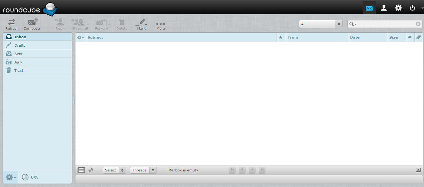 Gmail theme for squirrelmail