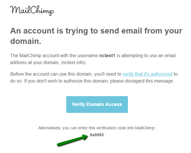 when you receive the verification email click the verify domain access button in the email or copy the verification code - Verify Email Address Php