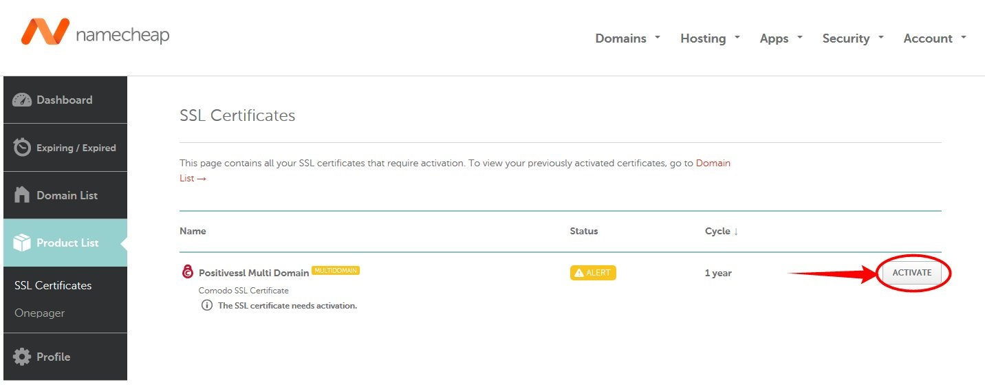 How do i activate a multi domain ssl certificate activatio copy and paste your csr code including begin certificate request and end certificate request tags into the corresponding field xflitez Images
