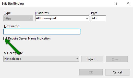 IIS: multiple certificates installation - Hosting