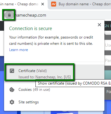 How do I check my hashing algorithm? - SSL Certificates