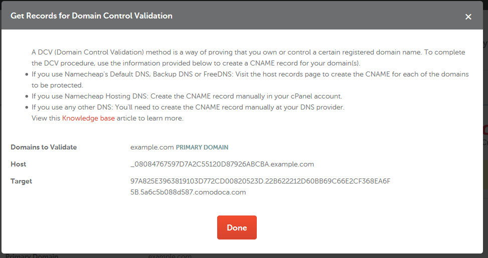 How Can I Complete The Domain Control Validation Dcv For My Ssl