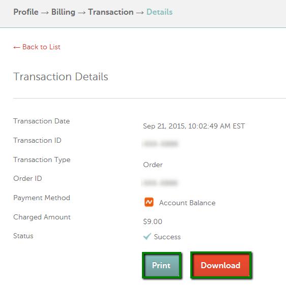 do i get a receipt for my order checkout billing namecheap com