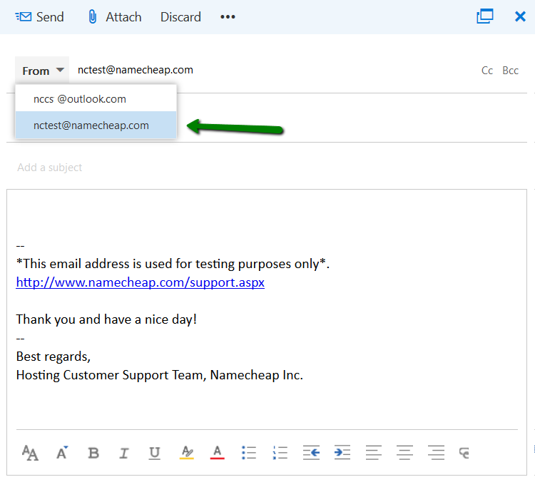 How to add Private Email account to Outlook com webmail - Email service