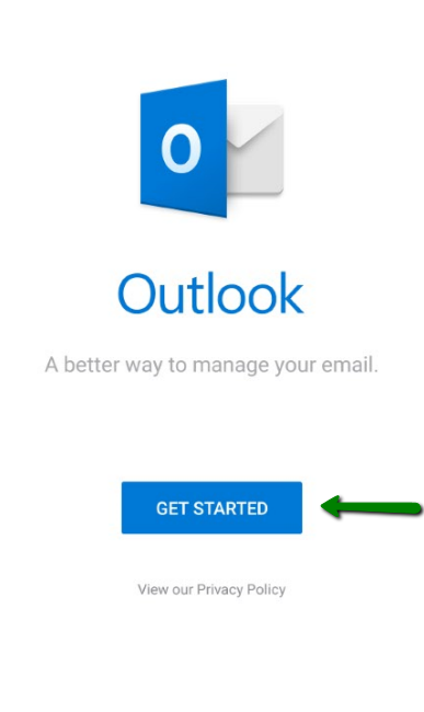 Private Email account setup in Outlook for Android - Email
