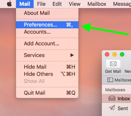 cPanel email account setup in Mail on macOS Sierra/Mojave (SMTP/IMAP)