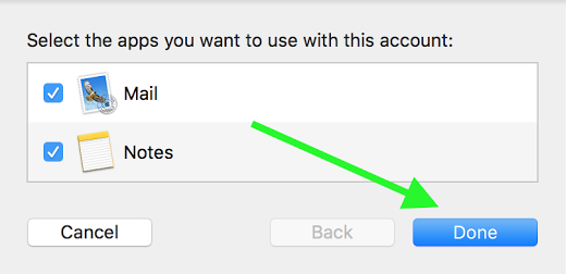 preferences in Mac Mail
