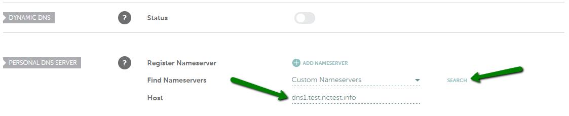How do I register personal nameservers for my domain? - Domains