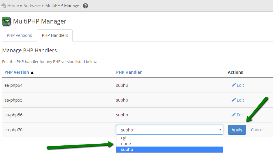 How to change PHP configuration on a VPS/Dedicated server (for