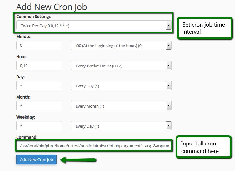 How To Run Scripts Via Cron Jobs Hosting Namecheap