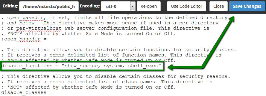 How to enable exec() - Hosting - Namecheap com