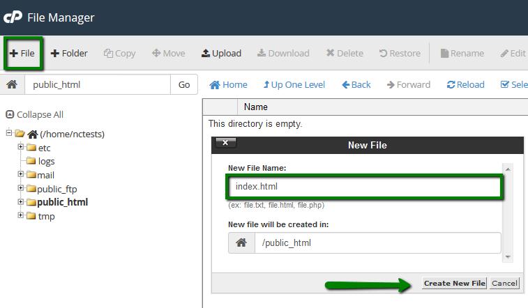 How to set up URL Frame in cPanel - Hosting - Namecheap.com