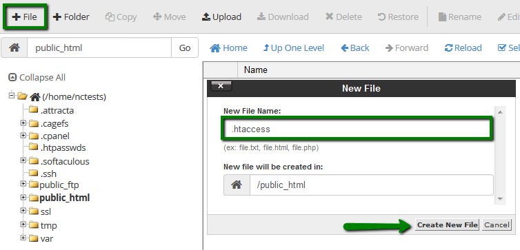 How to set up rules and redirects in  htaccess - Hosting