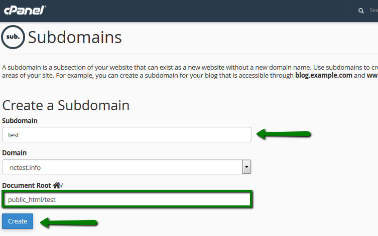 How can i check the content of my website before switching the dns 2 create the same subdomain testexample in your active dns zone for your domain on the side of your current dns provider or domain registrar and sciox Images